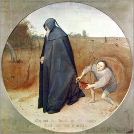 Pieter Brueghel d.Ä. - The Misanthrope (The perfidy of the world)