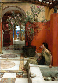 Lawrence Alma-Tadema - The Oleander.