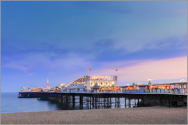 Alex Robinson - The Palace Pier at dusk