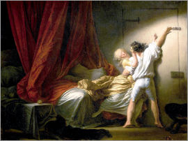 Jean-Honoré Fragonard - The Bolt