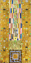 Gustav Klimt - The Knight, Stoclet frieze