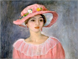 Henri Lebasque - The pink hat