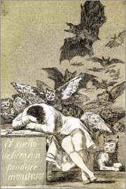 Francisco José de Goya - The Sleep of Reason Produces Monsters