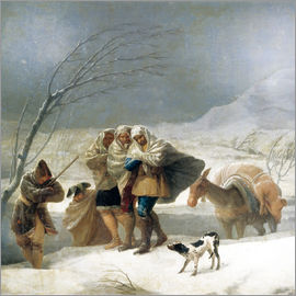 Francisco José de Goya - The snowfall