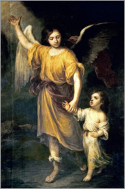 Bartolome Esteban Murillo - Guardian Angel
