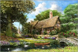 Dominic Davison - Summer Country Cottage