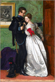 Sir John Everett Millais - The Black Brunswicker
