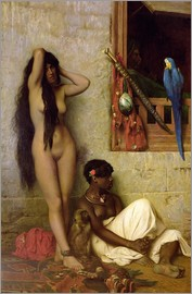 Jean Leon Gerome - The Slave for Sale