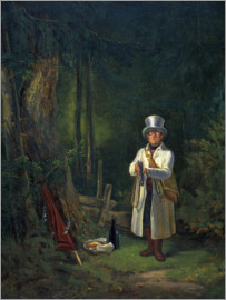 Carl Spitzweg - The Sunday Hunter