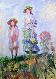 Claude Monet - The walk