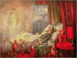 John Anster Fitzgerald - The Stuff that Dreams are Made Of