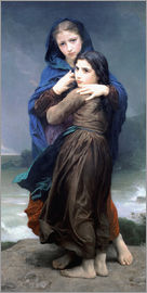 William Adolphe Bouguereau - The Storm