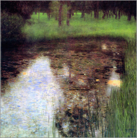 Gustav Klimt - The swamp