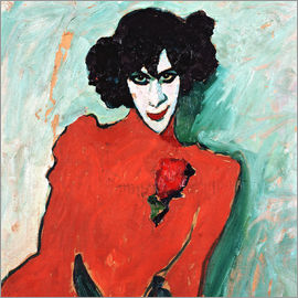 Alexej von Jawlensky - The dancer Alexander Sakharov