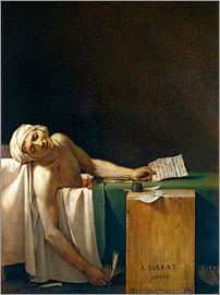 Jacques-Louis David - The Death of Marat