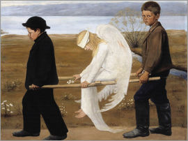 Hugo Simbert - The Wounded Angel