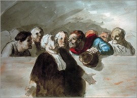 Honoré Daumier - Defense Attorney