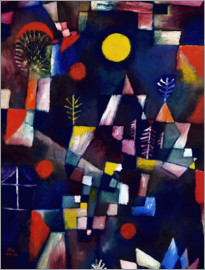 Paul Klee - The full moon. In 1919.