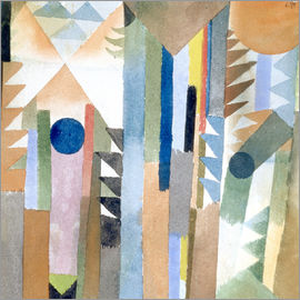 Paul Klee - The forest, which arose from a seed