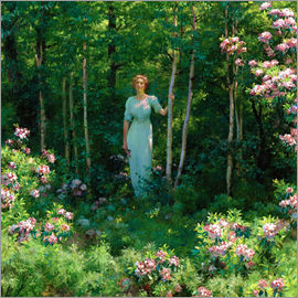 Charles Courtney Curran - The Edge of the Woods