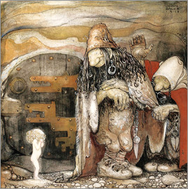John Bauer - The changeling
