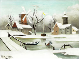 Henri Rousseau - The winter