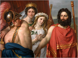 Jacques-Louis David - The Wrath of Achilles