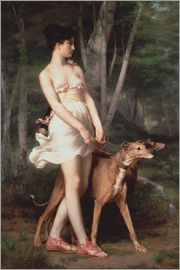 Gaston Casimir Saint-Pierre - Diana the Huntress