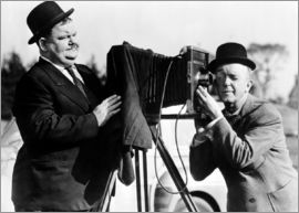 THE BIG NOISE, Oliver Hardy, Stan Laurel