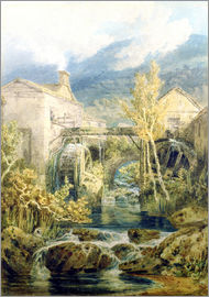 Joseph Mallord William Turner - The Old Mill, Ambleside