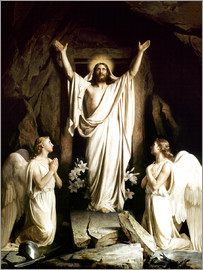 Carl Bloch - The Resurrection