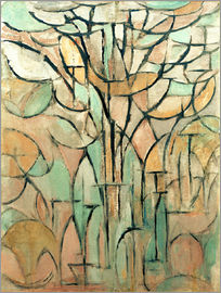 Piet Mondrian - The trees