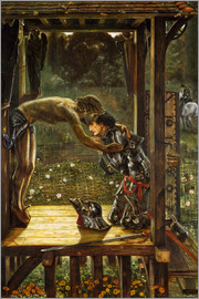 Edward Burne-Jones - The Merciful Knight