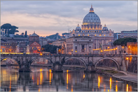 The Basilica of the Vatican of St. Peter