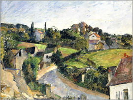 Paul Cézanne - The bending road