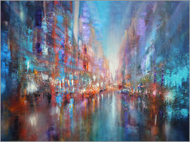 Annette Schmucker - the blue city