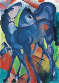 Franz Marc - The Blue Foals
