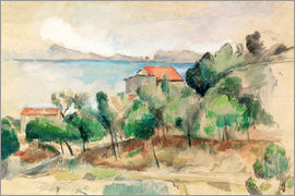 Paul Cézanne - La baie de L'Estaque