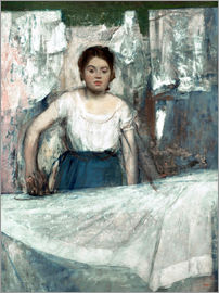 Edgar Degas - The Woman Ironing