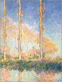Claude Monet - The three trees
