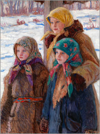 Nikolay Bogdanov-Belsky - The Three Sisters