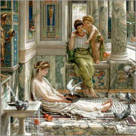 Sir Edward John Poynter - The corner of the villa