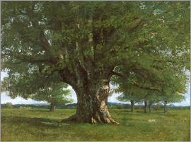 Gustave Courbet - The Oak of Flagey
