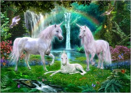 Jan Patrik Krasny - Rainbow Unicorn Family