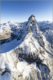 Roberto Moiola - The unique shape of the Matterhorn