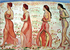 Ferdinand Hodler - The Sensation