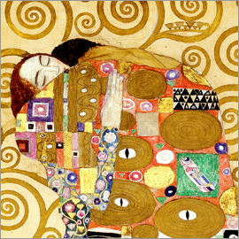 Gustav Klimt - The Hug