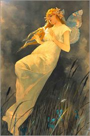 Alfons Mucha - The Fairy