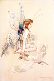 Warwick Goble - The fairies brought her a pretty pair of wings