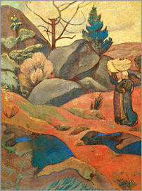 Paul Sérusier - The rocks in Huelgoat